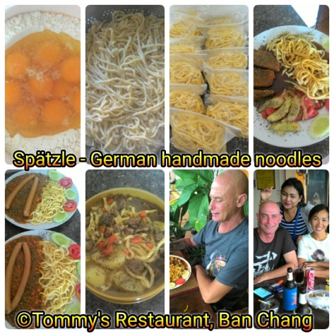Spätzle,noodles,banchang,banchangrestaurant,Thailand,Rayong